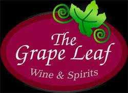 Grape Leaf Wine and Spirits Logo